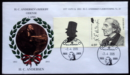Denmark 2005  Special Cancel Cover O.P.U.S. 1977-2005 H.C.Andersen  Minr.1396 ( Lot 285 ) - Covers & Documents
