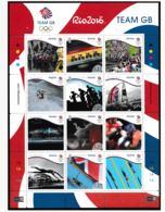 Isle Of Man 2016 Rio De Janeiro Olympic Games Large Souvenir Sheet  MNH/** (H37-LAR) - Sommer 2016: Rio De Janeiro