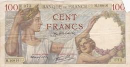 France - Billet De 100 Francs Type Sully - 16 Mai 1940 - 1871-1952 Antichi Franchi Circolanti Nel XX Secolo