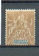 DAH 331 - YT 11 * -  Charnière Complète - Unused Stamps