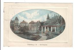 Ansichtskarte , Oldenburg , Cäcilienplatz , 1912 - Oldenburg