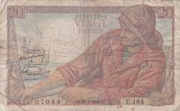 France - Billet De 20 Francs Type Pêcheur - 29 Janvier 1948 - 20 F 1942-1950 ''Pêcheur''