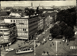 Cp Krefeld Am Niederrhein, Ostwall, Tram - Other