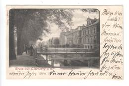 Ansichtskarte , Oldenburg , Haarenufer 1901 - Oldenburg