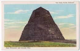 Ames Monument Near Laramie /P24/ - Laramie