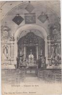 Berlare - Deelgemeente Uitbergen - Binnenzicht Kerk (met Prachtstempel Wichelen 1905) - Berlare