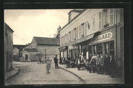 CPA Frépillon, Café-Hôtel Des Voyageurs - France
