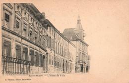 St Saint-Mihiel (Meuse) L'Hôtel De Ville - Edition Perichon - Carte Dos Simple Non Circulée - Saint Mihiel