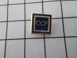 119 Pin's Pins / Beau Et Rare / THEME : BANQUES / Mini Pin's CCF - Banken