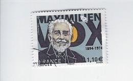 Personnalité Maximilien Vox 4906 Oblitéré 2014 - Francia