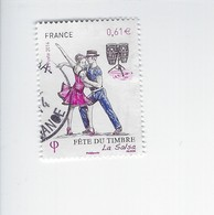 Fête Du Timbre Danse La Salsa 4904 Oblitéré 2014 - Francia