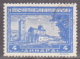 SERBIA   SCOTT NO  2N38     USED   YEAR  1942 - Serbie