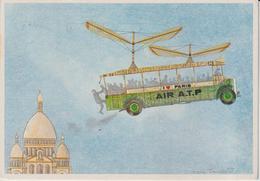 LES TRANSPORTS A LA MODE DE... MARC TRUCHETET DESSINATEUR AIR A.T.P PARIS - Autres Illustrateurs