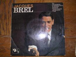 """33 Tours 25 Cm - JACQUES BREL   -  BARCLAY 80222  """" JEFF """" + 7  ( 2ème Pochette ) - Autres - Musique Française"""