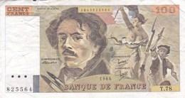 France - Billet De 100 Francs Type Delacroix - 1984 - 1962-1997 ''Francs''