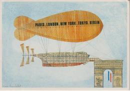 LES TRANSPORTS A LA MODE DE... MARC TRUCHETET DESSINATEUR PARIS LONDON NEW YORK TOKYO BERLIN - Autres Illustrateurs