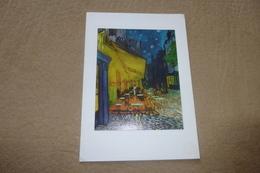 BELLE CARTE DOUBLE ....LE CAFE ...LE SOIR ... - Van Gogh, Vincent