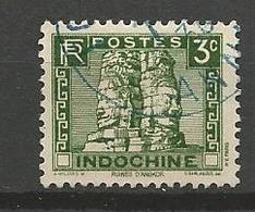 INDOCHINE  N° 157A OBL - Indochine (1889-1945)
