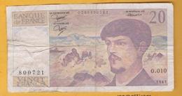 France - Billet De 20 Francs Type Debussy - 1983 - 1962-1997 ''Francs''