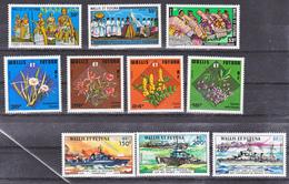 Wallis Et Futuna  210 212 , 213/216, 221/223 Bateaux Des FNFL Neuf Avec Trace De Charnière* MH Con Charmela Cote ** 73 - Neufs