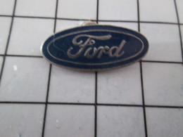 710c  Pin's Pins / Beau Et Rare / THEME : AUTOMOBILES / LOGO DE LA MARQUE FORD - Ford