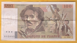 France - Billet De 100 Francs Type Delacroix - 1993 - 1962-1997 ''Francs''