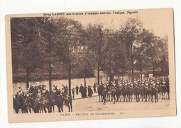 Carte Militaria - Escorte De Cuirassiers à Paris :  Achat Immédiat - ( Cd034 ) - Manoeuvres