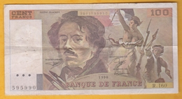 France - Billet De 100 Francs Type Delacroix - 1990 - 1962-1997 ''Francs''
