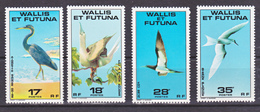 Wallis Et Futuna  217/220 Oiseaux Neuf ** MNH Sin Charmela - Neufs