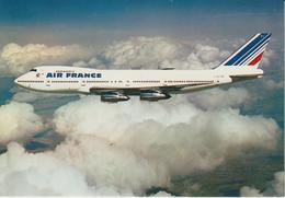 AVIATION AVIONS BOEING 747 AIR FRANCE - 1946-....: Ere Moderne