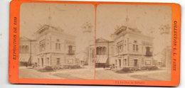 (photo) Paris EXPOSITION 1889  : Stéréophoto:  Pavillon De Salvador  (PPP22230) - Stereoscopic