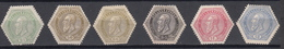 Belgie - Belgique Ocb Nr :  TG12 - TG17  * MH (zie  Scan) - Telegraafzegels