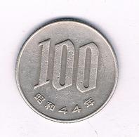 100 YEN 1969 JAPAN  /2430/ - Japan