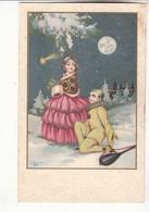 Carte Illustrateur  Biri  - Au Clair De Lune :  Achat Immédiat - ( Cd034 ) - Autres Illustrateurs