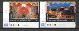 2017 - 962 à 963**MNH - Patrimoine Mondial - Centre International De Vienne