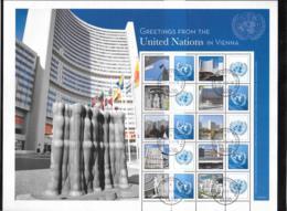 2015 - 854 à 863**MNH - Centre International De Vienne