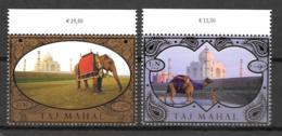 2014 - 839 à 840**MNH - Patrimoine Mondial, Taj Mahal - Centre International De Vienne