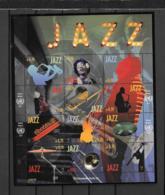 2014 - 815 à 826**MNH - Jazz - Centre International De Vienne