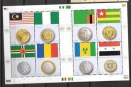 2013 - 804 à 811**MNH - Draêaux Et Monnaies - Centre International De Vienne