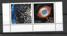 2013 - 796 à 797**MNH - Semaine De L'espace - Centre International De Vienne