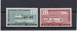Französische Zone, Rheinland/Pfalz 49/50** (T 15529) - Zona Francesa