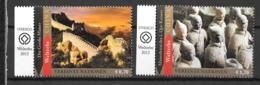 2013 - 776 à 777**MNH - Patrimoine Mondial, Chine - Centre International De Vienne