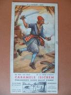 Buvard  Caramels Isicrem GALLIOT D'ISIGNY - Buvards, Protège-cahiers Illustrés