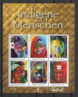 2010 - 693 à 698**MNH - Peuple Autochtone - Centre International De Vienne