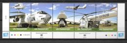 2010 - 688 à 692**MNH - Moyens De Transport - Centre International De Vienne