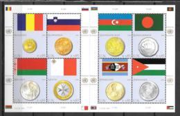 2010 - 641 à 648**MNH - Drapeaux Et Monnaies - Centre International De Vienne