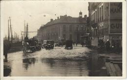 Nantes Sous L'eau Janvier 1936 Le Quai Brancas - Nantes