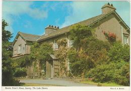 Beatrix Potter's House, Sawrey, The Lake District. - (John Hinde Postcard) - Cumberland/ Westmorland