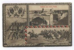 WK1 Grüsse Aus Dem Felde IR 145 6. Lothring. Feldpost 1917 Nach Aachen - Guerra 1914-18