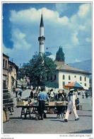 BOSNIA  ERZEGOVINA:  SARAJEVO  -  PIAZZA  COL  MERCATO  -  FOTO  -  FG - Piazze Di Mercato